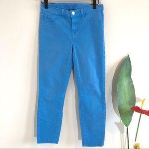 J BRAND Blue Bonnet Luxe Skinny Jeans | Sz 27